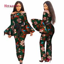 <b>African</b> clothing two <b>piece</b> set skirt <b>African</b> Print+lace Clothing <b>2</b> ...