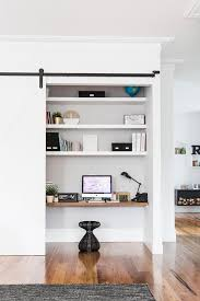 this study nook is cleverly concealed behind a sliding door within a living room photo chi yung office feng