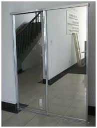 interesting design mirrored closet door ideas admirable design mirrored closet door