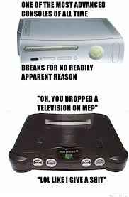 XBox 360 Vs Nintendo 64 | WeKnowMemes via Relatably.com
