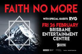<b>Faith No More</b> RESCHEDULED - Brisbane Entertainment Center
