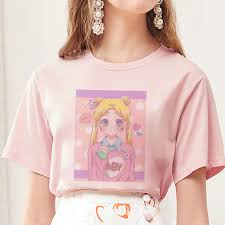 Summer <b>2019 New Arrival Cute</b> Sailor Moon Anime Print Female ...