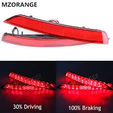 MZORANGE 1 Set Red LED <b>car styling rear light</b> tail light For Subaru ...