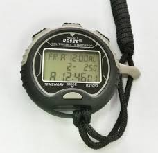 Fitness Technology <b>Waterproof Digital LCD</b> Stopwatch Chronograph ...