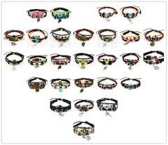 Lotus Notes Emoticons Hot Peace Sign Charm Bracelet Fashion Women39s Men39s Handmade Hemp