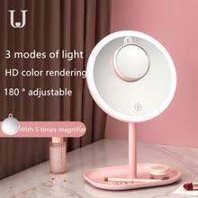 <b>Зеркало</b> для макияжа <b>Xiaomi</b> Mijia <b>Jordan</b> & Judy, светодиодное ...