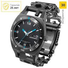 <b>Часы LEATHERMAN TREAD TEMPO</b> BLACK – купить в интернет ...