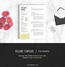 creative resume templates you won t believe are microsoft word resume template the heather