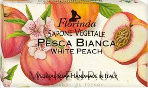 """Florinda White peach Natural <b>Soap</b> - <b>Мыло натуральное</b> """"Белый ..."""