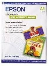 Epson Photo Quality Self-adhesive Sheets (8.3x11.7 ... - Amazon.com