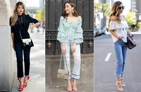 <b>Укороченные джинсы</b>: как подобрать для себя, с чем носить. Фото