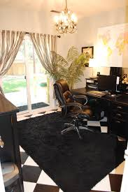 black shag rug home office traditional designing tips with window treatments window treatments black shag rug home office