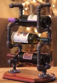 <b>Держатель для винных бутылок</b> из труб и фитингов. #трубы ...