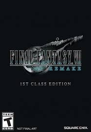 <b>FINAL FANTASY</b>® <b>VII</b> REMAKE - 1ST CLASS EDITION [PS4 ...