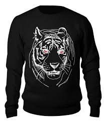 "Свитшот унисекс хлопковый ""зверье <b>тигр</b> 2"" #2806065 от npfsr ..."