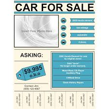 car for flyer