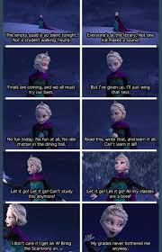 "Frozen ""Let it Go"" College Edition - Imgur via Relatably.com"