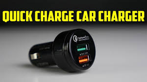 FASTEST <b>QUICK</b> CHARGE <b>CAR CHARGER</b>! - YouTube