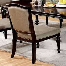 dining table walnut traditional