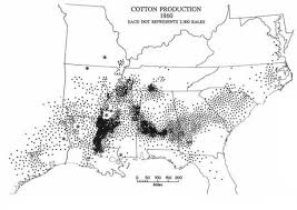 causing the civil war   teachinghistory orgu s  cotton production