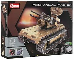 Электромеханический <b>конструктор QiHui Mechanical</b> Master 8 ...