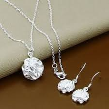 Beautiful <b>thick</b> Sterling <b>Silver</b> Chain Link Heart Pendant <b>Necklace</b> ...
