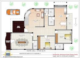 Home Design and Plans   Home IdeasHome And Plans Indian Home With House Plan Sq Ft On Nice Home