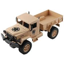 Wltoys <b>124301 1:12</b> 4WD Military Truck Electric Remote Control Model