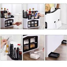 Sauce <b>Multifunction</b> Practical Kitchen With Spice Box Household ...