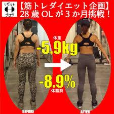 【筋トレダイエット企画】28歳OLが3か月で-5.9kg、-8.9%を達成した方法の全て