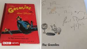 First edition of Roald Dahl book <b>Gremlins</b> up for auction - BBC News