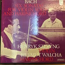 Johann Sebastian <b>Bach</b>, <b>Henryk Szeryng</b>, Helmut Walcha - 6 ...