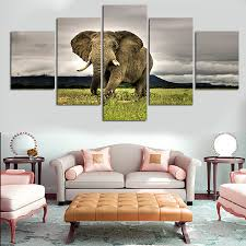 print decorations african living room decor