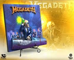 <b>Megadeth</b> (<b>Rust In</b> Peace) 3D Vinyl - Knucklebonz, Inc.