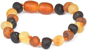 <b>Raw</b> Amber Bracelet - Anklet - 100% Authentic <b>Baltic Amber</b> ...
