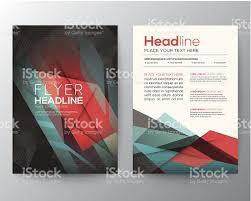 abstract triangle geometric brochure flyer design layout template abstract triangle geometric brochure flyer design layout template royalty stock vector art