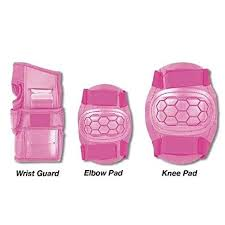 Childrens Kids Skate <b>Pads</b>, <b>Knees Elbow</b> Wrist <b>Protection Pads</b> ...