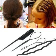Women Hairdressing Tools Hair Brush Twist <b>Sponge Foam</b> Hair ...