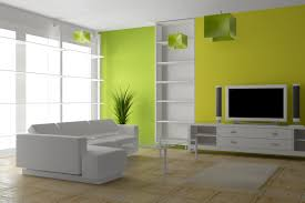 green black mesmerizing: interior painting for the beautiful living room