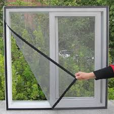 DIY Flyscreen Curtain <b>Insect</b> Fly <b>Mosquito Bug Window</b> Screen ...