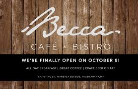 The secret place is finally open for... - Tropical Shores - <b>BECCA cafe</b> ...