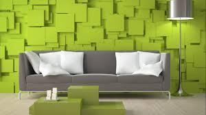 Wallpaper Decoration For Living Room Living Room Pictures With 3d Green Wallpaper Decoration Home