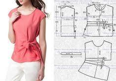 Шитье простые выкройки | Одежда | Sewing patterns, Sewing ...