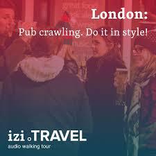 Pub crawling in London.