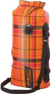<b>Гермомешок Sealline Discovery</b> Deck Bag, 09955, оранжевый, 30 л