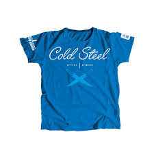 <b>Футболка Cold Steel Cross</b> Guard Blue Tee for Women женская ...