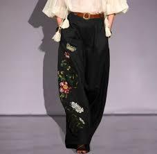 Vintage Pants <b>2021 VONDA Women</b> Summer High Waist Trousers ...