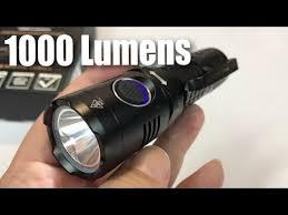 <b>USB Rechargeable</b> Ultra-Bright 1000 Lumens CREE XP-L (V5) <b>LED</b> ...