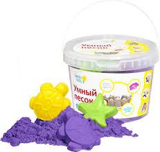 <b>Genio</b> Kids <b>Кинетический песок</b> Умный песок цвет фиолетовый 2 кг