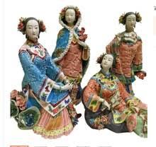 Classic beauty Spring summer autumn winter shiwan doll ceramic ...